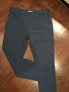 Olivers Apparel Passage Pants Dark Indigo Sz 33 (new Sample)