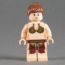 Lego Star Wars Figurine Princesse Leia Mini Sw085 Jabba Esclave 6210