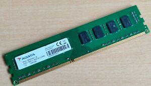 Adata 4GB 2RX8 DDR3 1600MHz PC3-12800U 240PIN 1.5V Desktop RAM RM3U1600W8G11-B