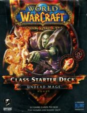 New Sealed Class Starter Deck Undead Mage Horde World of Warcraft WoW TCG