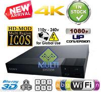 Sony BDP-S6700 Region free Blu Ray player Multi region Smart wifi 4k A B C & 0-8