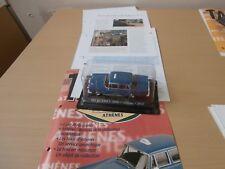 MERCEDES 200D-ATHENS-1965-1/43E-TAXIS DU MONDE ALTAYA-AVEC FASCICULE COMPLET