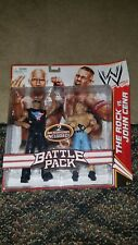 WWE Battle Pack Series 15 THE ROCK VS. JOHN CENA Figure 2 PACK Mattel Brand New