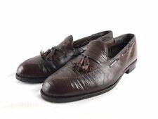 Vintage Footjoy Classics Lizard Tassel Loafer Men's US size 10.5 E - Stunning!