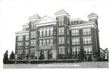 Adrian MI~Siena Heights Girls College~Catholic; Rich Protestants RPPC 1940s