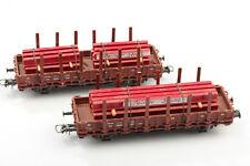 Fleischmann H0 5221 2 Wagon de Runge avec Charger Peiner Stahlträger Boue /