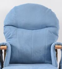 Habebe Recliner Rocking Glider Chair Replacement Washable Covers - BLUE