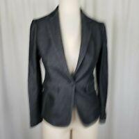 Rag & Bone New York Black and White Club Jacket Blazer Womens sz 0 NWT $495 USA