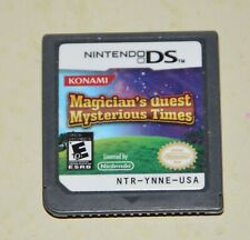 Magician's Quest: Mysterious Times Nintendo DS Game 2009 Konami