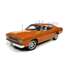 Autoworld 1970 Plymouth Duster 340 Coupe 1/18 Diecast Orange Amm1239