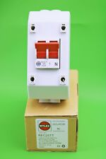Wylex 100A 2 Pole Mains Switch & Enclosure Supply Isolator REC2STT