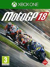 MotoGP 18 XBOX 1 Video Juego original de Reino Unido One versión Perfecto Estado
