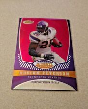 2008 Topps Finest Finest Moments Refractor #AP5 Adrian Peterson /149