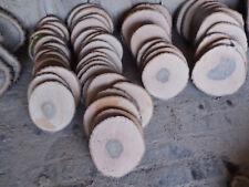 Baumscheibe, Holzscheibe, 30 x 3 cm, Esche wie Eiche, teilweise ohne Rinde
