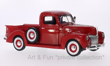 Ford Pickup rot 1940 1:18 Motormax, OVP ungeöffnet, modelcar Ford pick up red