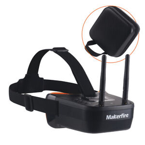 5.8Ghz FPV Goggles, VR007-Pro Video Headset 5.8G 40CH HD 3 Inch 16:9 Display