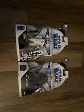 Star Wars Black Series Clone Wars Anakin Skywalker & Hawk Target Exclusive LOT