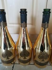 ace of spades empty champagne bottle