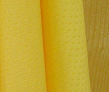 BY THE YARD / Yellow Non slip with Grips Cotton Blend Fabric Polycotton fCB143@