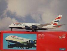 Herpa Wings 1:500 Airbus A380 British Airways G-XLEL 524391-002 Modellairport500
