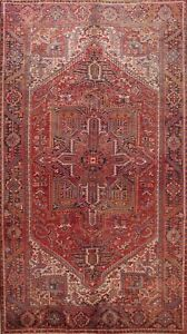 Vintage Traditional Area Rug Hand-Knotted Wool Oriental Living Room Carpet 9x12