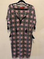 Designer Tigerlily kaftan beach dress Size Small,  Purple Print, Summer