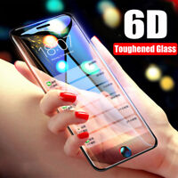 6D Full Cover 9H Tempered Glass Screen Protector For Apple iPhone XS XR XSMax