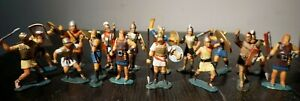 Marx Warriors of the World Vikings Toy Figures Soldiers Lot Vintage 16 Pieces