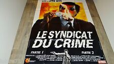 john woo LE SYNDICAT DU CRIME  !  affiche cinema  karate kung-fu