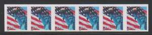 D0175: US #3981a Mint Strip of 5, ERROR