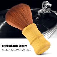 LP Vinyl Record Cepillo de limpieza Limpiador de fibra de carbono Removedor de