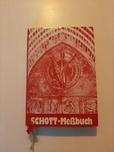 Schott Messbuch mit Goldschnitt