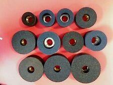 11 Piece Black & Decker Valve Seat Grinder Stone Set 1 1/8 - 2 3/8 Made in the U