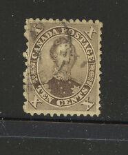 Canada 17b used catalog $135.00 Ms1124