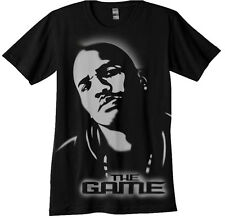 The Game Airbrush Stencil shirt airbrushed hip hop rap