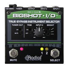 Radial Engineering BigShot IO True Bypass Instrument Selector Pedal R800 7212 00