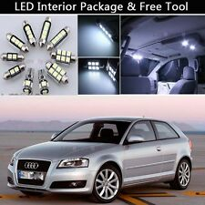 14PCS Blub Error Free LED Interior Lights Package kit Fit 2006-2012 Audi A3 J1