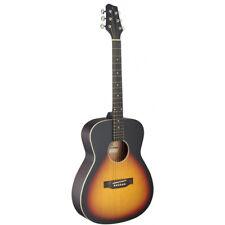 NEW Stagg SA35-A-VS Auditorium Full Size Acoustic Guitar - Vintage Sunburst