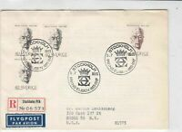 sweden 1965 stamps cover ref 19564