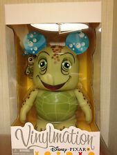 "Crush and Squirt From Finding Nemo 9"" and 3"" Vinylmation Pixar Series LE 1250"