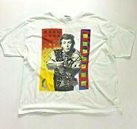 Mens Vintage Paul McCartney World Tour 1989 1990 Concert T Shirt Size XL