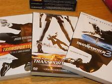 coffret trilogie 3 DVD le transporteur 1-2-3 jason statham COURSE de VOITURE