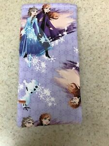 Sunglass / Eyeglass Soft Fabric Case - Frozen with Olaf on Purple Background