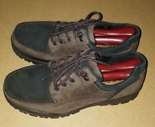 ECCO Track 6 Moc-Toe GTX two tone Leather Gore-Tex Work Hiking Shoes Men 41 Sz 7