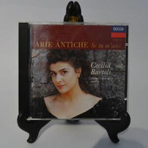 CD Album - Cecilia Bartoli - Piano György Fischer - Arie Antiche Se tu m´ami