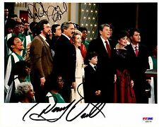 PSA/DNA DONNY-MARIE-JAY-JIMMY OSMOND AUTOGRAPHED-SIGNED 8x10 FAMILY PHOTO B03738