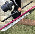KungFu Battle Knife Saber Sharp Manganese Steel Chinese WuShu Dao Sword Katana