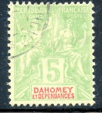 TIMBRE  COLONIES FRANCAISES / DAHOMEY /// TYPE SAGE / OBLITERE N° 9