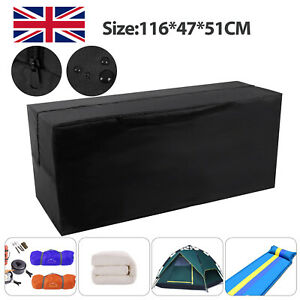 Waterproof Large Heavy Duty Outdoor Garden Furniture Cushion Storage Bag Case UK