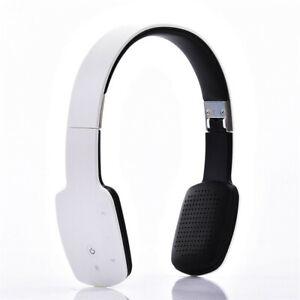 Foldable Bluetooth Headset Stereo Headphone Sport Running Earphone with Mic